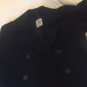 Classic Navy Pea Coat
